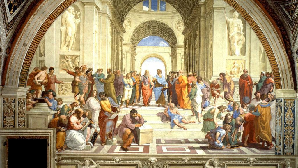 ラファエロ『アテナイの学堂』