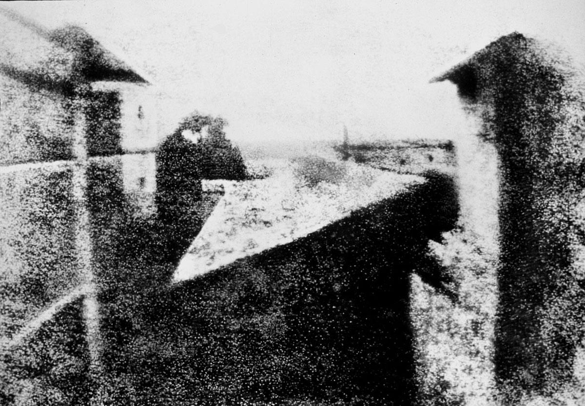 図:ル・グラの窓からの眺め