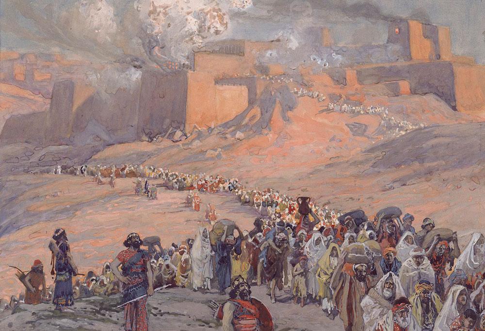 図:バビロン捕囚